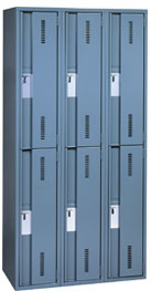 Envoy Employee and Student Lockers in Slate